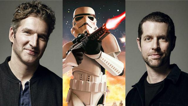 David Benioff e D.B. Weiss são cocriadores, produtores e roteiristas de Game of thrones. Foto: Disney/Divulgação