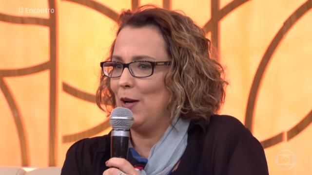 Atriz participou do Encontro, na Globo. Foto: Globo/Reprodução