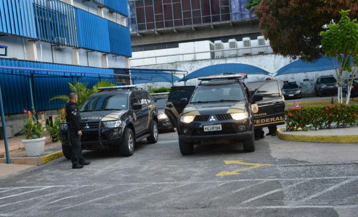 Segunda fase da Operação Torrentes cumpre mandados de prisão e apreensão em Pernambuco e no Maranhão. Foto: PF/ Divulgação