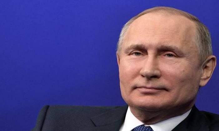 Em 2005, ele já havia dito não dispor de celular. Foto: Alexey NIKOLSKY / AFP / Sputnik