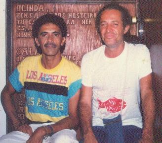 Parceria com Alceu Valença teve início nos anos 1980. Foto: Arquivo DP/D.A Press