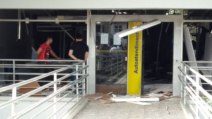 Quadrilha fugiu em direção ao estado de Alagoas. Foto: Cortesia/WhatsApp