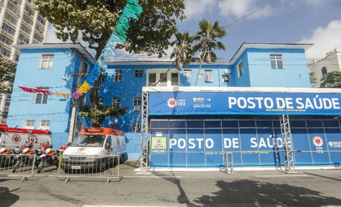 Samu tem cinco postos de atendimento espalhados pelo percurso do Galo. Foto: Divulgação