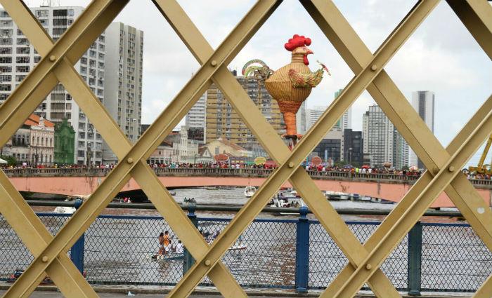Desfile do Galo altera trânsito. Foto: Paulo Paiva/ DP