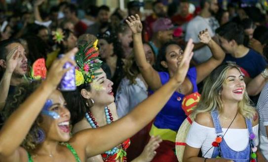Bloco Novos Candangos anima foliões no Setor Comercial Sul, em Brasília: Fabio Rodrigues Pozzebom/Agência Brasil