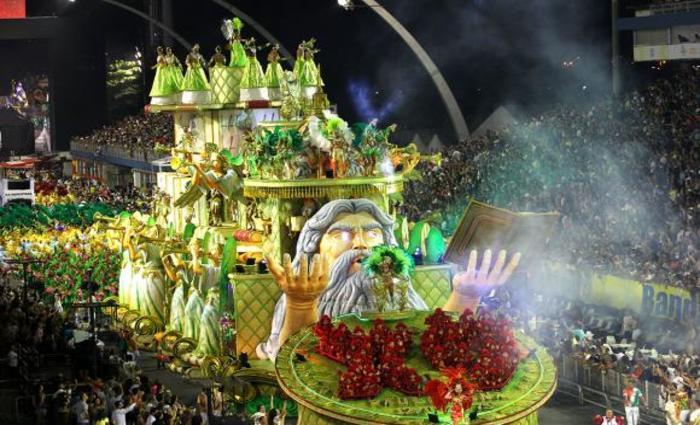 X9 Paulistana abre o segundo dia de desfile das escolas de samba do Grupo Especial Divulgação/LigaSP
