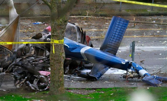 Aeronave transportava turistas quando caiu. Foto: trend.az/Reprodução
