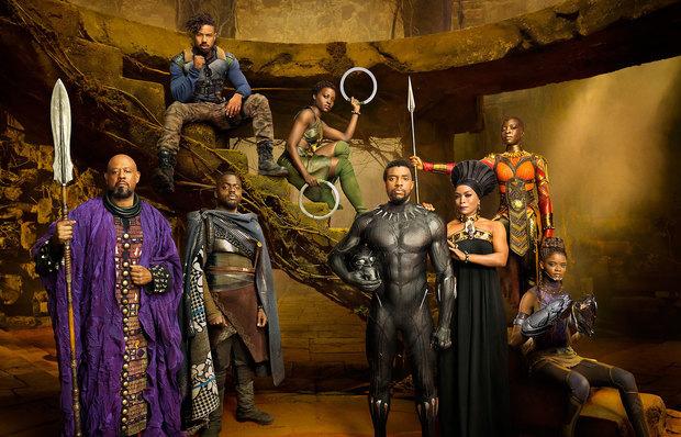 Elenco e produção são compostos, majoritariamente, por afro-americanos. Foto: Marvel Studios/Divulgação