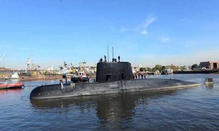 A recompensa poderá incentivar a busca do submarino argentino. Foto: Arquivo/ Divulgação/Marinha da Argentina.