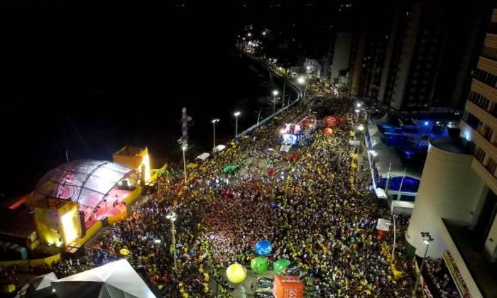 Carnaval no Farol da Barra. Foto: Valter Pontes/Secom Salvador