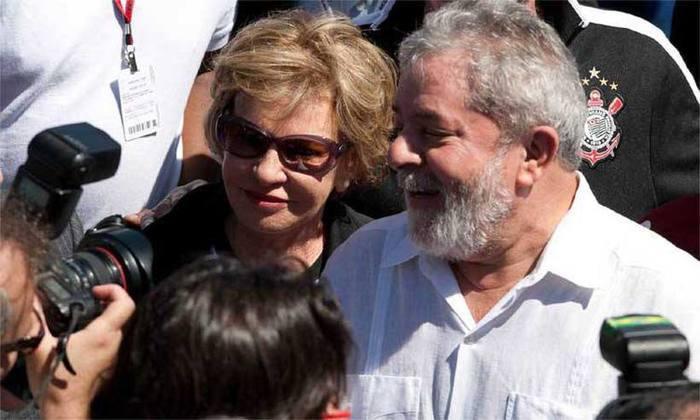 Marisa Letícia ao lado do ex-presidente Luiz Inácio Lula da Silva. Foto: Mário Angelo/SigmaPress/AE