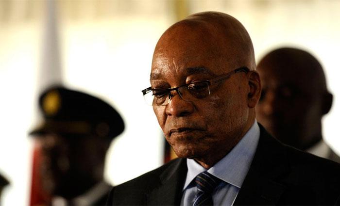 O presidente sul-africano, Jacob Zuma, anunciou sua demissão. Foto: AFP Photo