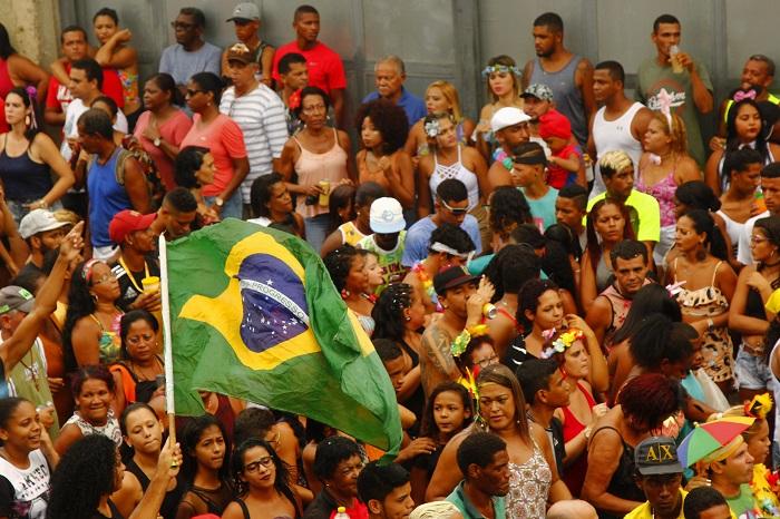 Neste ano, o tema da festa foi Salve o Amazonas. (Neste ano, o tema da festa foi Salve o Amazonas.)