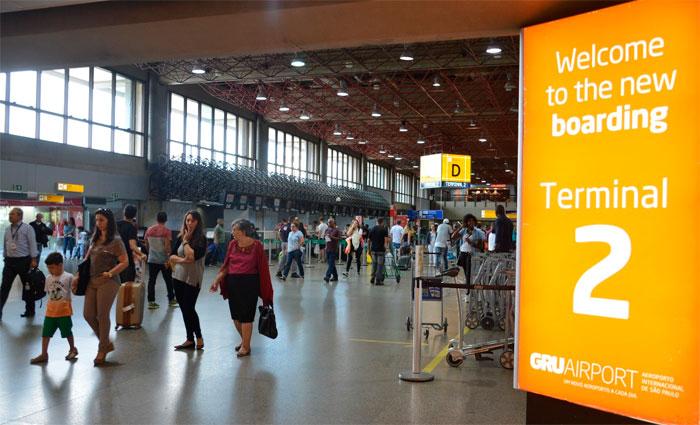 O Aeroporto Internacional de São Paulo foi apontado como o melhor aeroporto do Brasil. Foto: Rovena Rosa/Agência Brasil