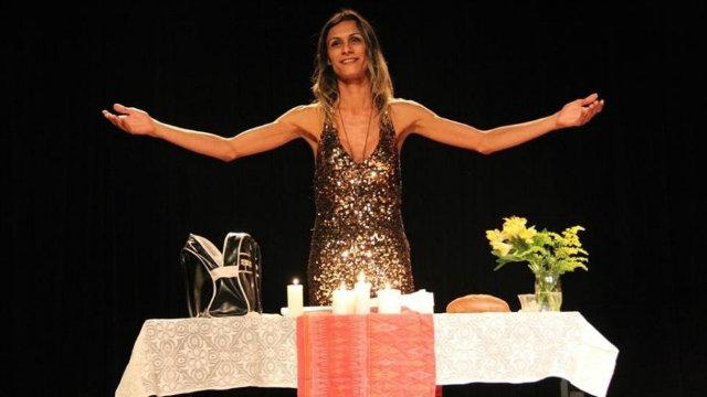 Atriz trans Renata Carvalho estrela a peça. Foto: Facebook/Reprodução