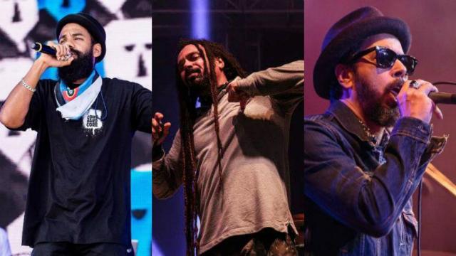 Três bandas vão comandar show no Centro de Convenções. Foto: Nação Zumbi, Diego Matheus e Mimo/Divulgação