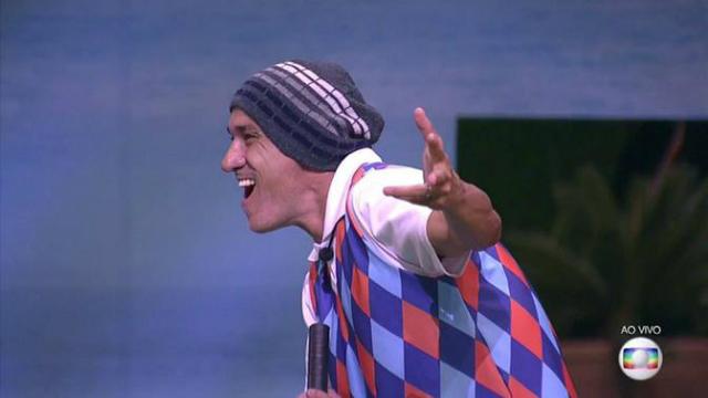Ayrton conquista o líder da semana. Foto: Globo/Reprodução
