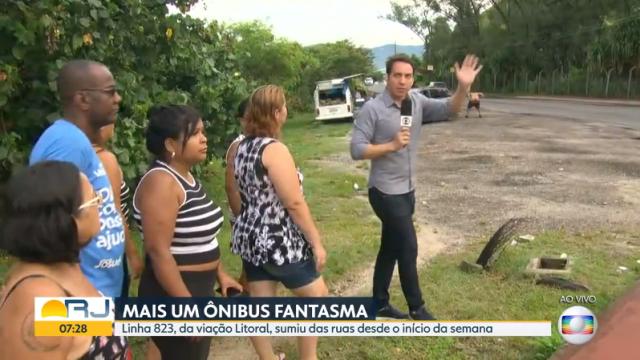 Homem invadiu transmissão de telejornal matutino. Foto: Globo/Reprodução