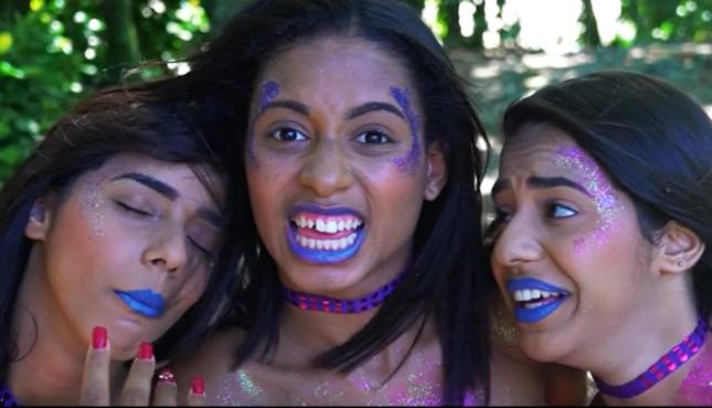 Meninas aparecem fantasiadas de serias. Foto: Instagram/Reprodução