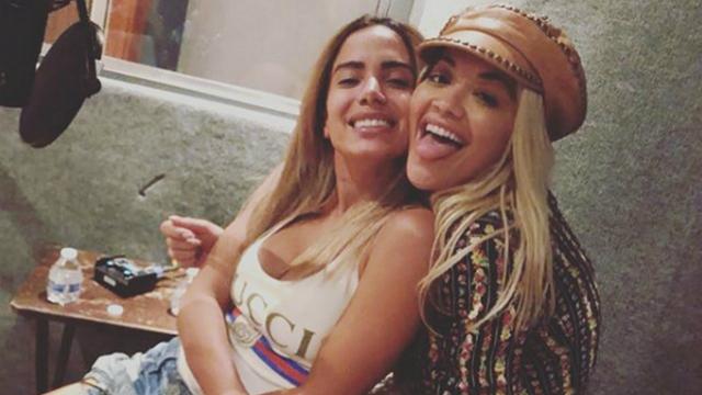 Anitta levanta suspeita de parceria musical com Rita Ora. Foto: Instagram/Reprodução
