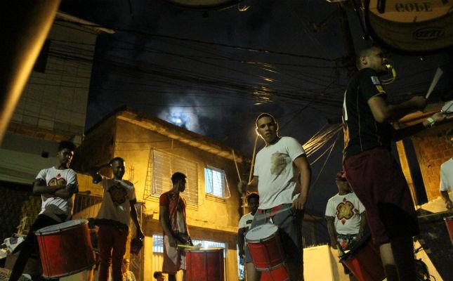 Atividades culturais desenvolvidas no Morro reforçam laços com ancestralidade e driblam ausências do poder público. Foto: Jefte Amorim/Divulgação