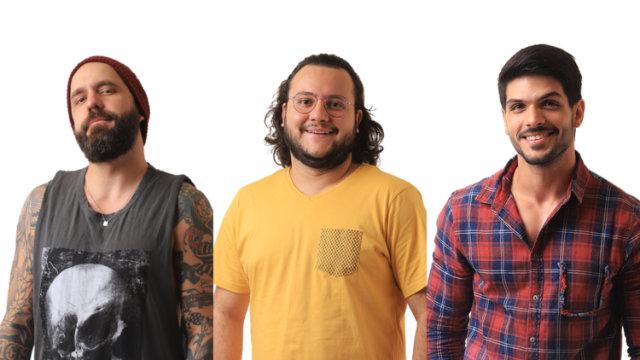 Decisão da família Lima, líder pela segunda vez na edição, foi de indicar Diego (centro). Foto: Gshow/Reprodução