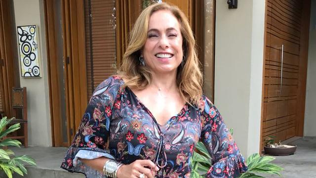 A atriz e apresentadora Cissa Guimarães tem 60 anos. Foto: GShow/Reprodução