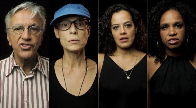 Artistas fazem parte da plataforma 342 Agora!, criada pra pressionar deputados a investigar o presidente Michel Temer. Foto: Facebook/Reprodução