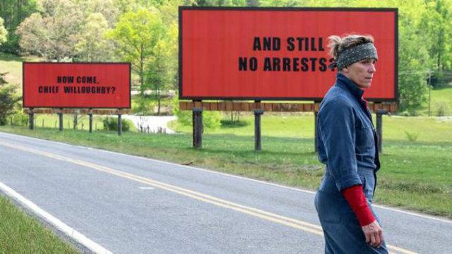 Cena do filme Três Anúncios Para Um Crime, estrelado por Frances McDormand. Foto: Fox/Divulgação