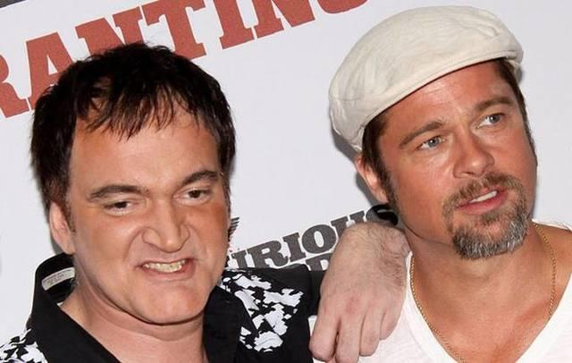 Dupla formada por Tarantino e Pitt está de volta. Foto: WireImage/Reprodução