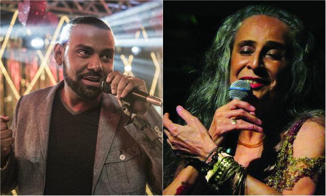 No ano passado, durante uma apresentação em São Paulo, a cantora já tinha cantado um trecho da música. Fotos: Renato Rocha Miranda/TV Globo e Ana Oliveira/Divulgação