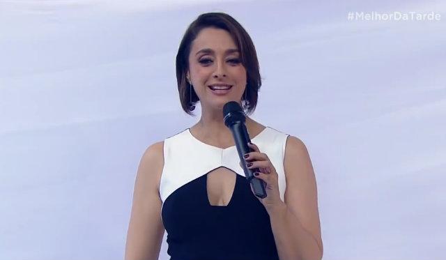 Após sair da TV Gazeta, apresentadora assinou contrato de dois anos com a Band. Foto: Band/Reprodução