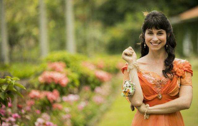 Chandelly Braz interpreta uma mulher culta na obra. Foto: Globo/Divulgação