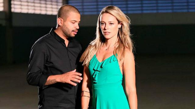 Paolla Oliveira interpreta 'musa inspiradora' de Projota no clipe de Mulher Feita. Foto: Universal Music Brasil/Divulgação