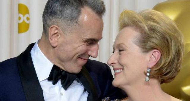 Daniel Day-Lewis e Meryl Streep são presença constante entre os indicados aos principais prêmios do cinema. Foto: Joe Klamar/AFP