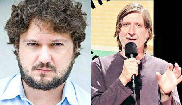Marcelo Montenegro e Fabrício Corsaletti. Fotos: Renato Parada/Divulgação e YouTube/Reprodução