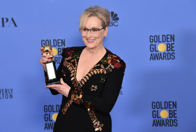 Meryl Streep estará na segunda temporada de Big Little Lies. Foto: Alberto E. Rodriguez/Getty Images/AFP