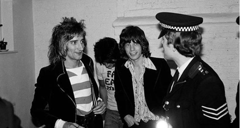 Rolling Stones não poderiam faltar no currículo do fotógrafo. Foto: Mick Rock/Instagram