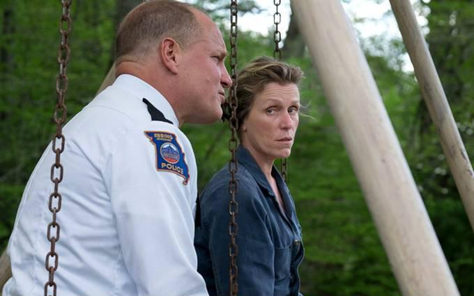 Woody Harrelson e Frances McDormand no intenso 'Três Anúncios para um Crime', de Martin McDonagh. Foto: Fox Filme/Divulgação