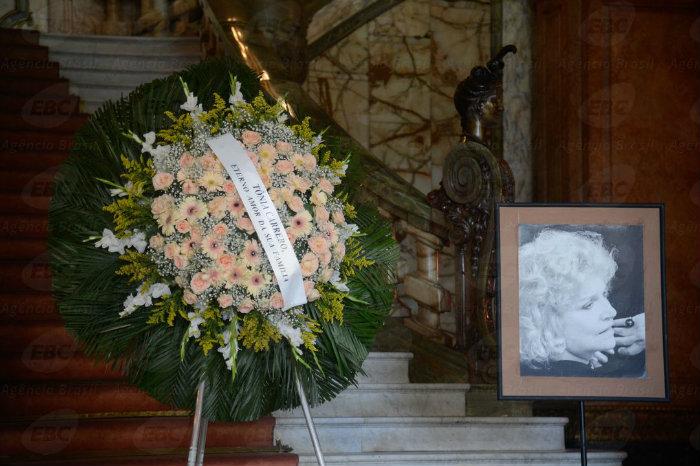 O corpo da atriz será cremado nesta segunda-feira (5), ao meio-dia, no Memorial do Carmo. Foto: Tânia Rêgo/Agência Brasil