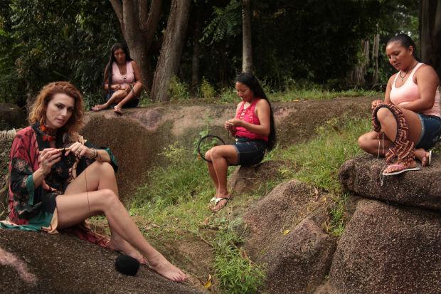 """""""Quando eu conheci a floresta amazônica, meu mundo se abriu. Eu tive a sensação que passei para uma outra etapa da vida"""", Chiara. Foto: Arquivo Pessoal"""