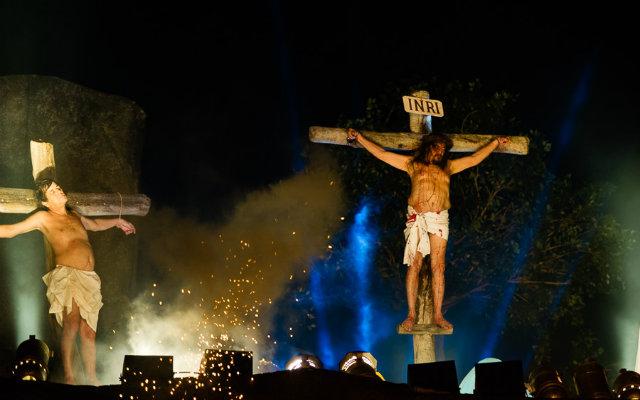 Seria a primeira vez do espetáculo sem José Pimentel no papel de Jesus. Foto: Wellington Dantas/Divulgação