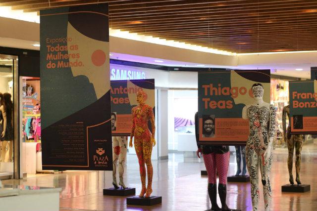 A apresentação faz parte da programação do shopping dedicada às mulheres. Foto: Facebook/Reprodução