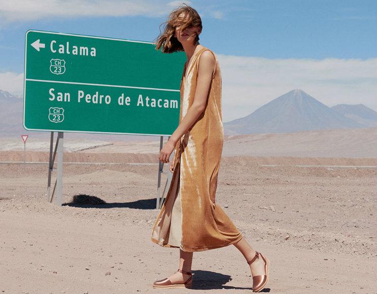 A campanha de Open Vibes foi clicada no Atacama, no Chile, e prega reconexão com a natureza e o eu interior. Foto: Melissa/Divulgação