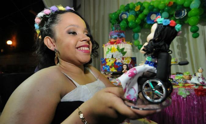 Juliana Pereira: 'Foi um gesto carinhoso dos organizadores'. Foto: Marcos Vieira/EM/D.A Press