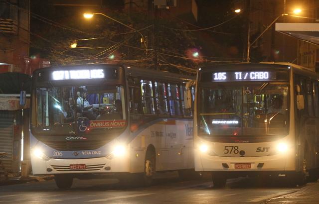 Mudanças de horários foram feitas apenas no turno da noite. Foto: Roberto Ramos/DP