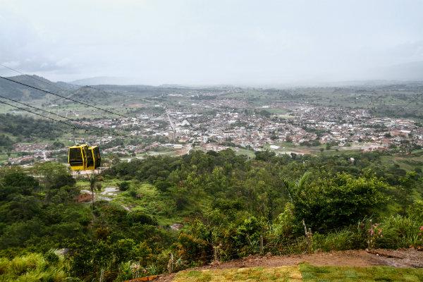 O equipamento vem para facilitar o acesso ao ponto mais alto do município