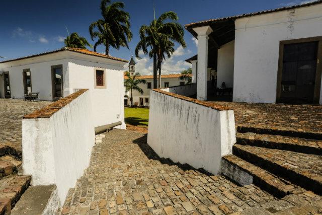 O Forte das Cinco Pontas é candidato a patrimônio cultural mundial da humanidade. Foto: Andrea Rego Barros/Divulgação