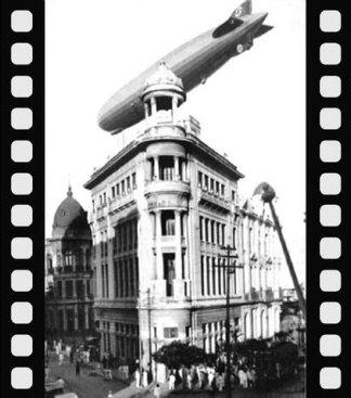 Foi Wilson quem registrou uma foto histórica da destruição da Igreja dos Martírios.  Arte DP/ Sobre foto de Wilson Carneiro da Cunha (Arte DP/ Sobre foto de Wilson Carneiro da Cunha)