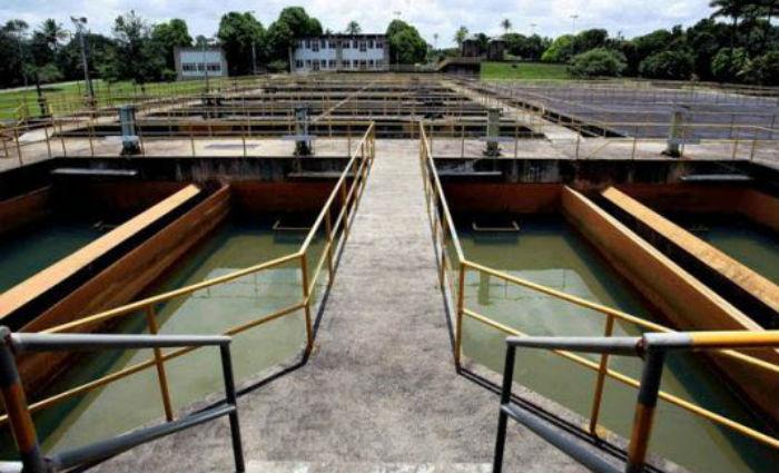 Estação de Tratamento de Água-ETA Botafogo. Foto: Compesa/ Divulgação